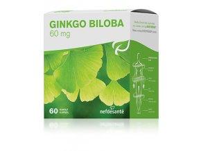 GINKGO BILOBA 60 mg 60 cps