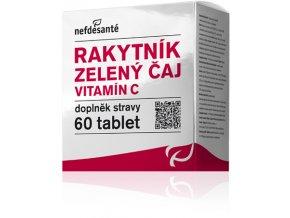 Rakytník zelený čaj vitamín C 60 tablet PROŠLÉ DATUM Minimální trvanlivosti 21.3.2019  Eshop výrobce