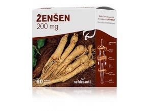 ŽENŠEN 200 mg 60 cps  přímo od výrobce