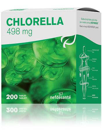 Nef de Santé Chlorella 200 tbl Březnová akce 1 + 1 zdarma doplněk stravy
