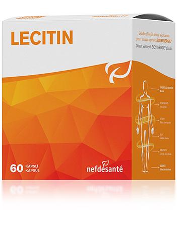 Nefdesanté Lecitin 60 kapslí (přímo od výrobce) sleva 22%