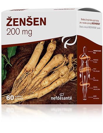 Nef de Santé Ženšen 200 mg 60cps přímo od výrobce