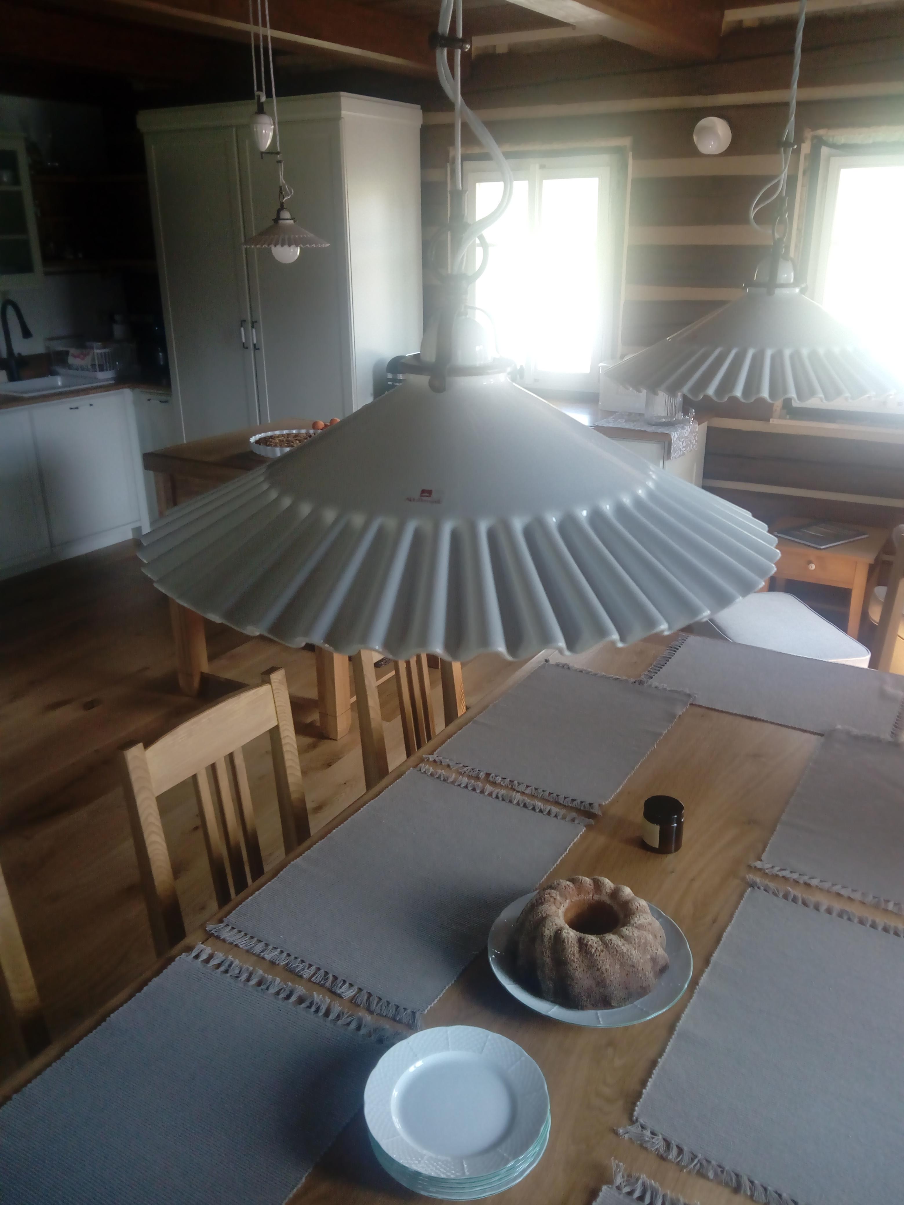 Porcelánové stahovací svítidlo Linea Duse