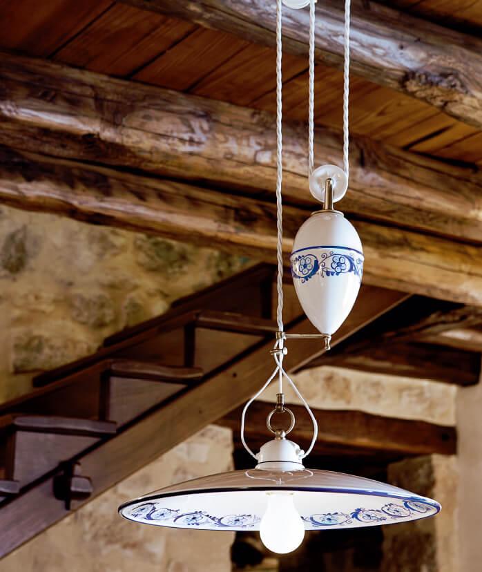 Porcelánová svítidla - ALDO BERNARDI