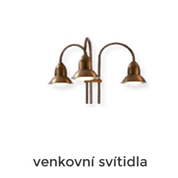 Zahradní stylové mosazné lampy - ALDO BERNARDI