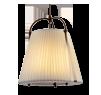 Mosazné lustry a lampy
