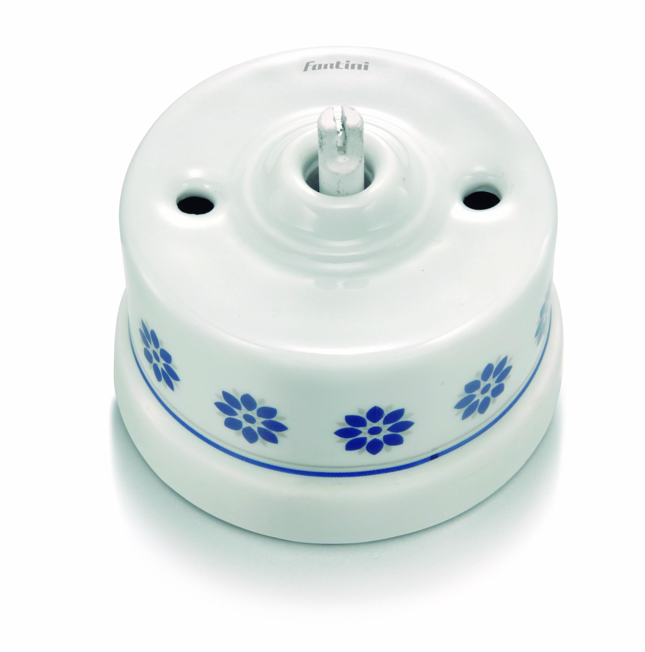 Garby - bílý porcelán+dekor