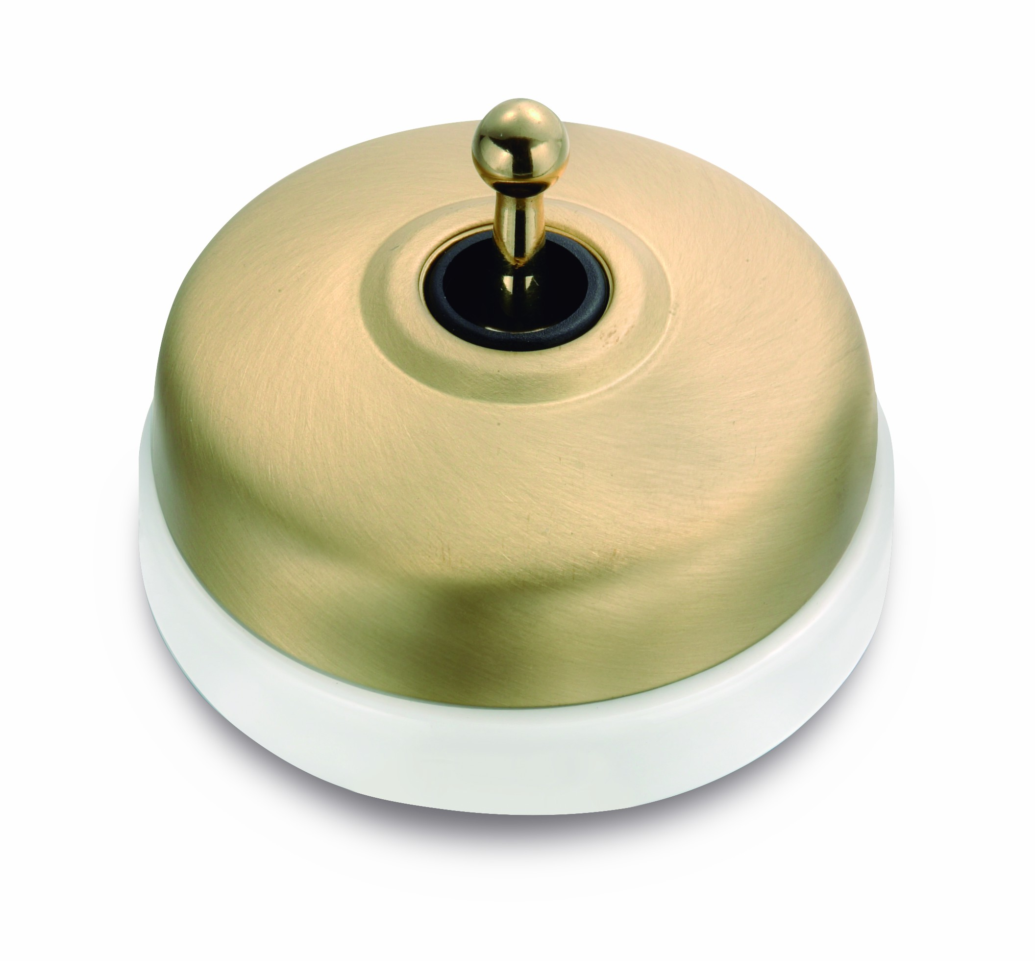 Dimbler - bílý porcelán/kov