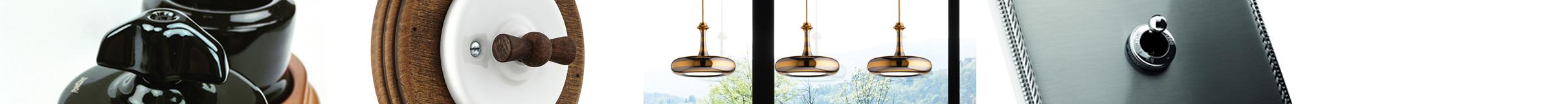 NeNo design - Stylové retro vypínače a svítidla - eshop