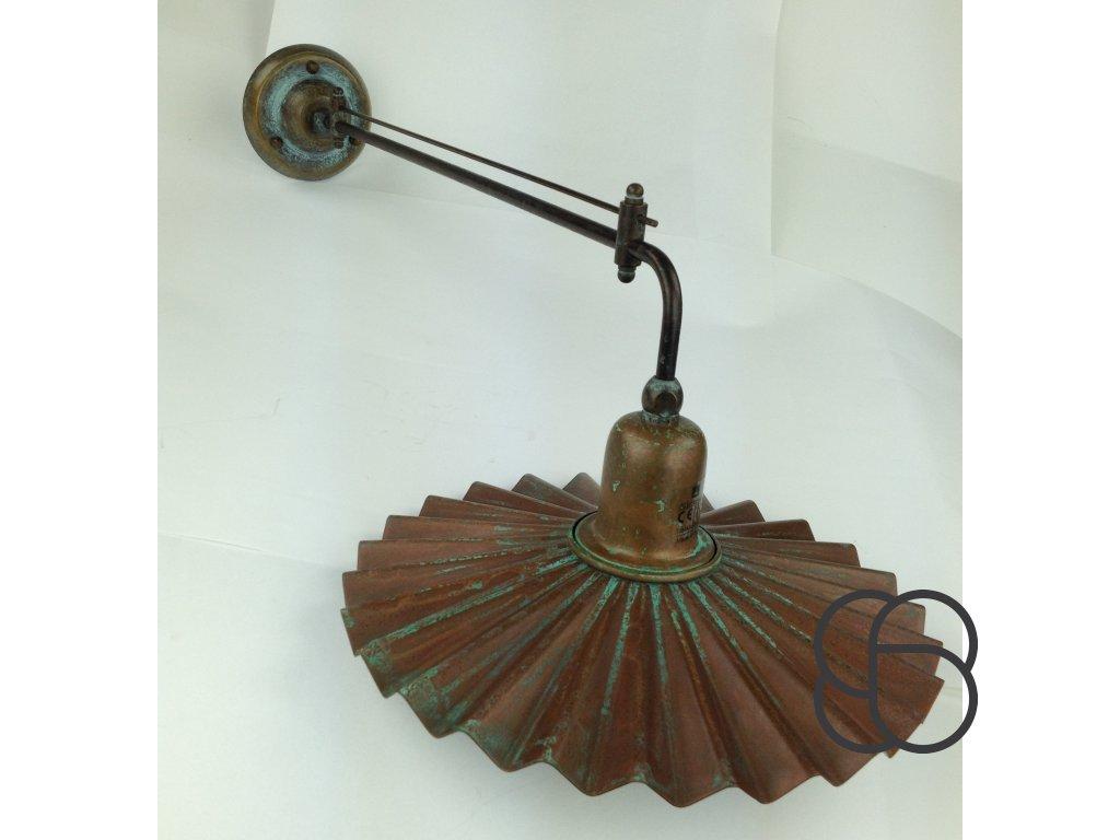 Nástěnné retro rustikální svítidlo Linea Civetta