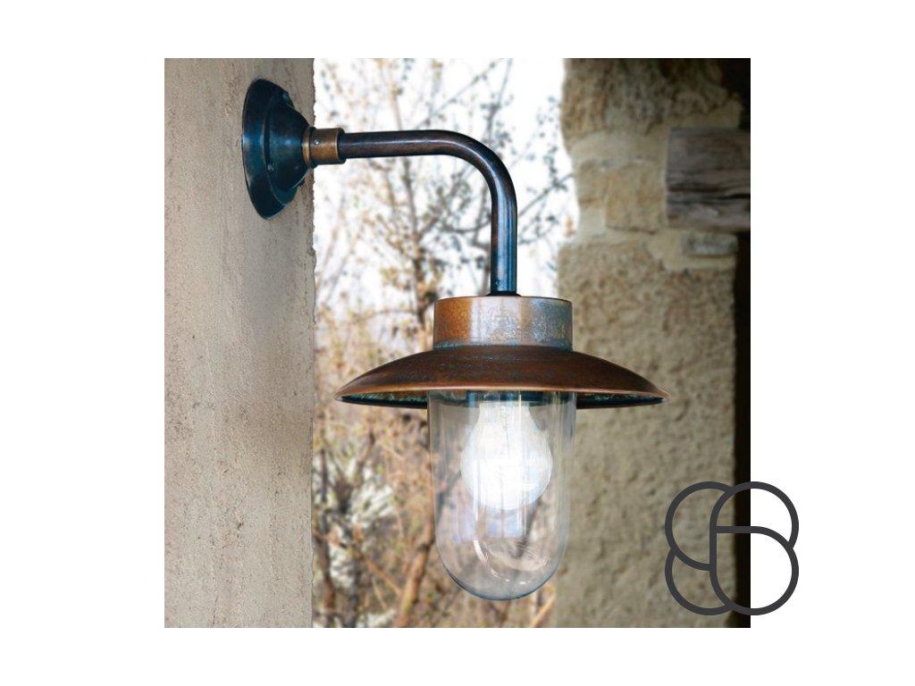 Nástěnná lampa retro Linea Nabucco  + Recyklační příspěvek