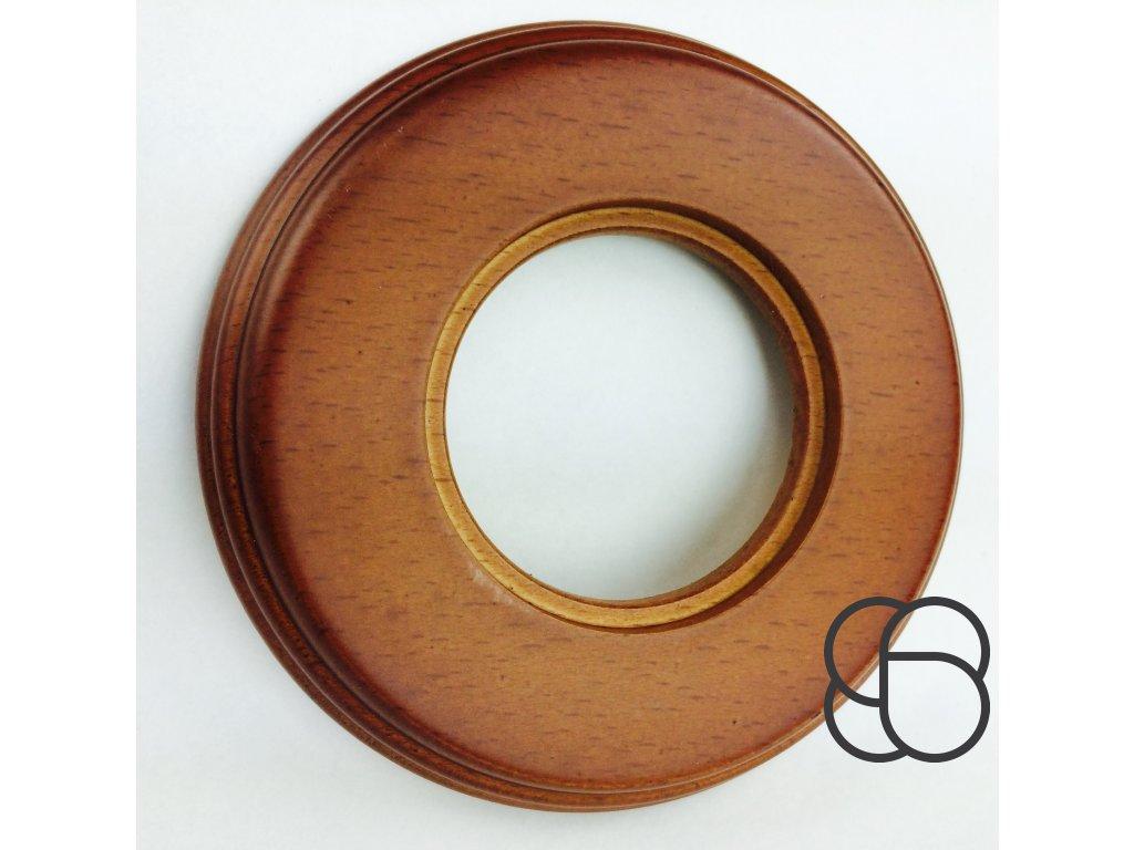 Rámeček Garby Colonial dřevo/med