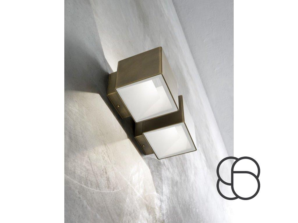 Nástěnná lampa Line Cubetto