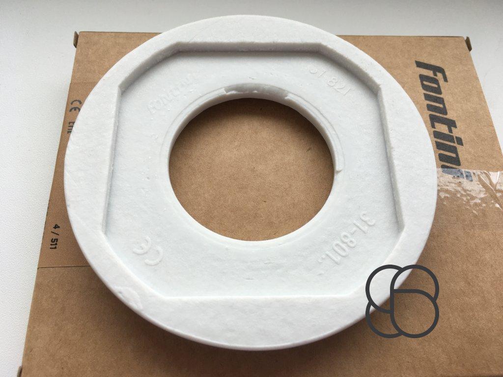 Rámeček Garby Colonial porcelánový/bílá - výprodej