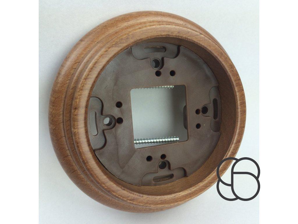 Rámeček vystouplý GARBY/medové dřevo