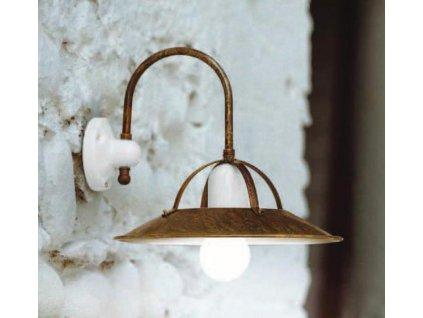 Nástěnná lampa retro Linea Postiglione