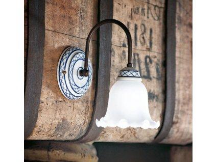 Nástěnná lampa retro Linea Torcio