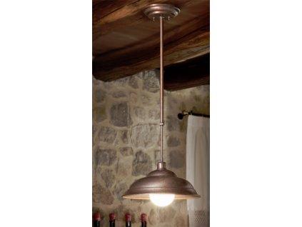Závěsné stropní svítidlo retro Linea Tosca