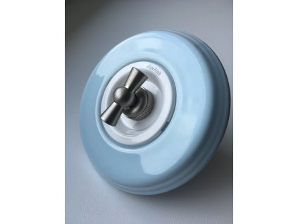 Rámeček Garby Colonial porcelánový/modrý pastel