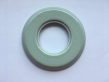 Rámeček Garby Colonial porcelánový ve spec. zeleném pastelovém odstínu