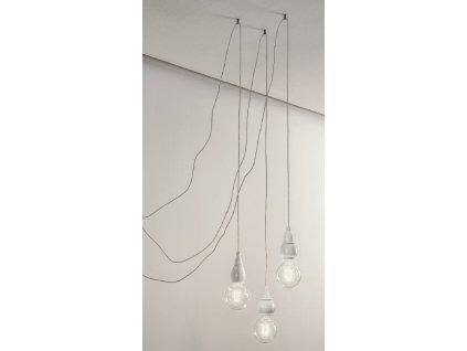 Sestava svítidel Linea Fate - bílá s háčky