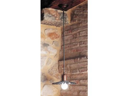 Závěsné stropní svítidlo retro rustikální Linea Civetta 1
