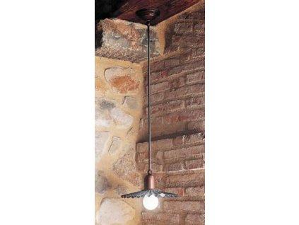 Závěsné stropní svítidlo retro rustikální Linea Civetta