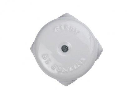 Propojovací krabička retro na omítku bílá/malá