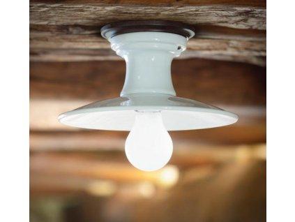 Porcelánové stropní svítidlo retro Linea Bilancia 1