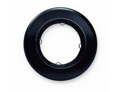 Rámeček LOW černý porcelán