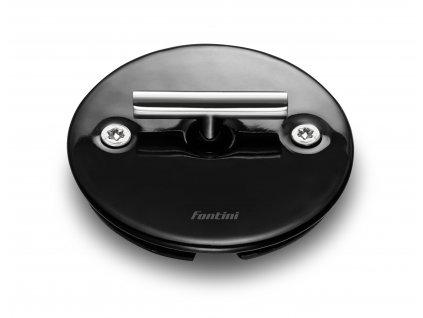 Porcelánový vypínač DO FIT černý/klička chrom