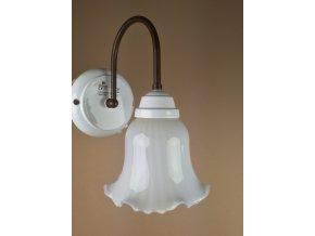 Nástěnná lampa retro Linea Torcio - stínítko Ø 145 mm