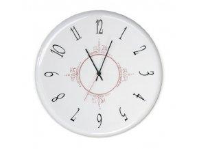 Nástěnné retro keramické hodiny  Linea Orologi