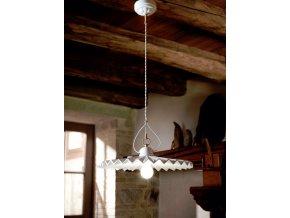 Závěsné stropní svítidlo retro - Linea Piega 28 cm