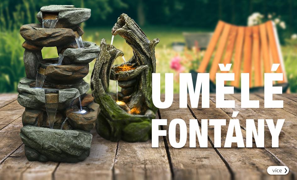 Umělé fontány z polyresinu