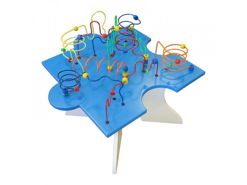 Dětský interaktivní hrací stůl - Puzzle