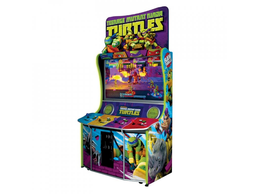 Interaktivní arkádová bojová hra - Teenage Mutant Ninja Turtles