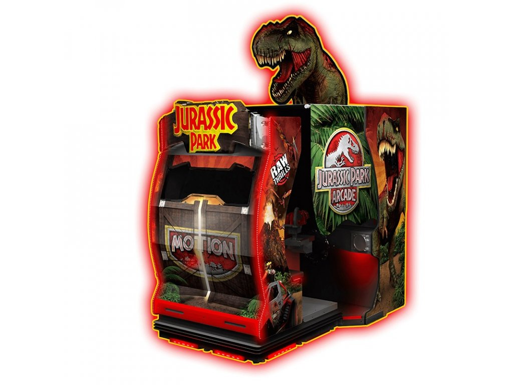 Interaktivní arkádová hra - Jurassic Park