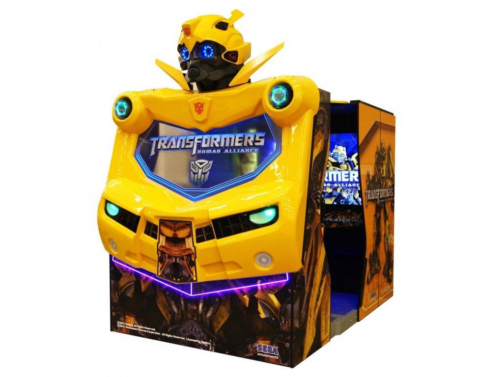 Interaktivní arkádová hra - Transformers Human Alliance