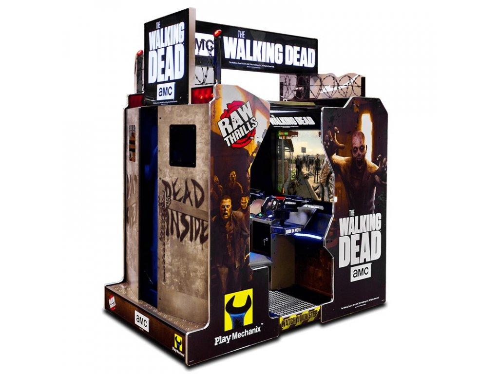 Interaktivní arkádová střílečka - The Walking Dead