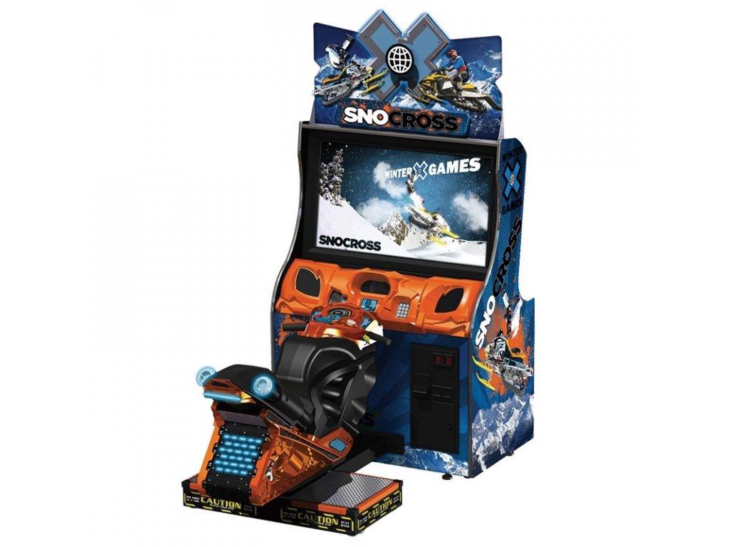 Interaktivní sportovní simulátor - Snocross