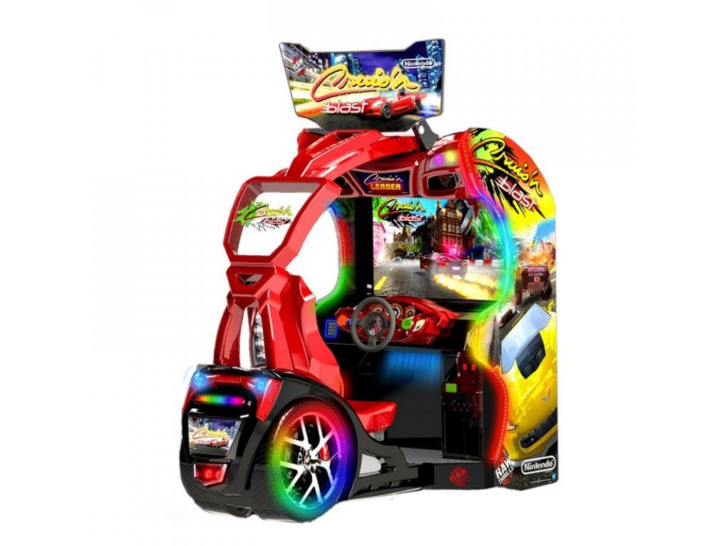 Interaktivní závodní simulátor - Cruis'n Blast