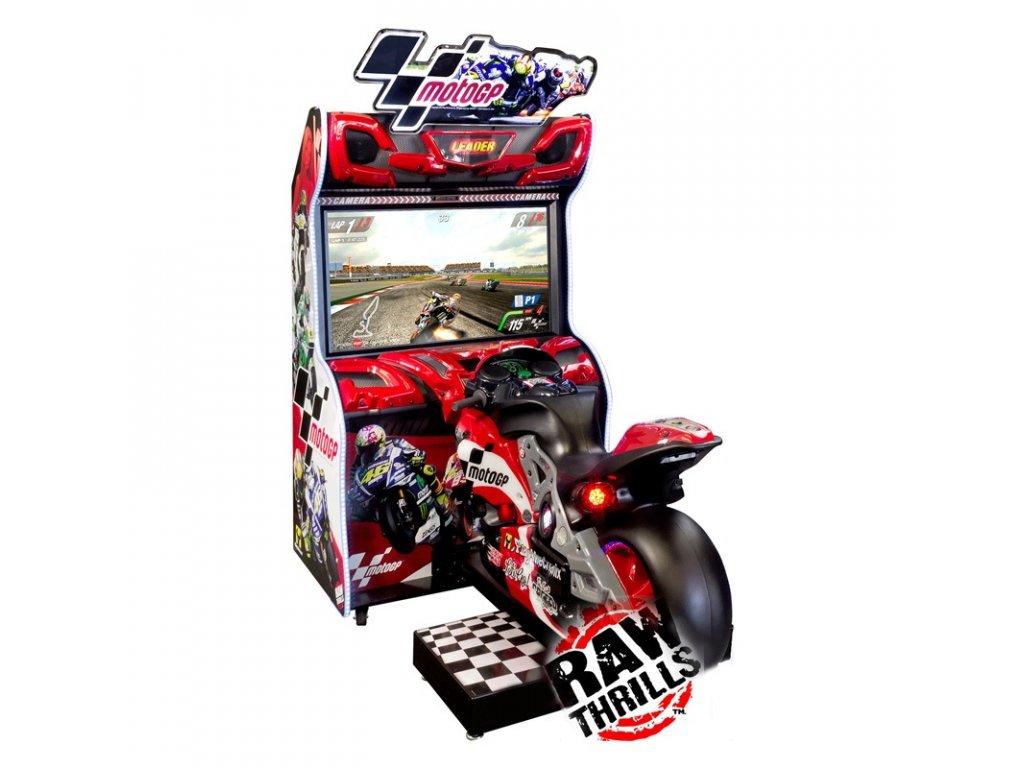 Interaktivní závodní simulátor - Moto GP