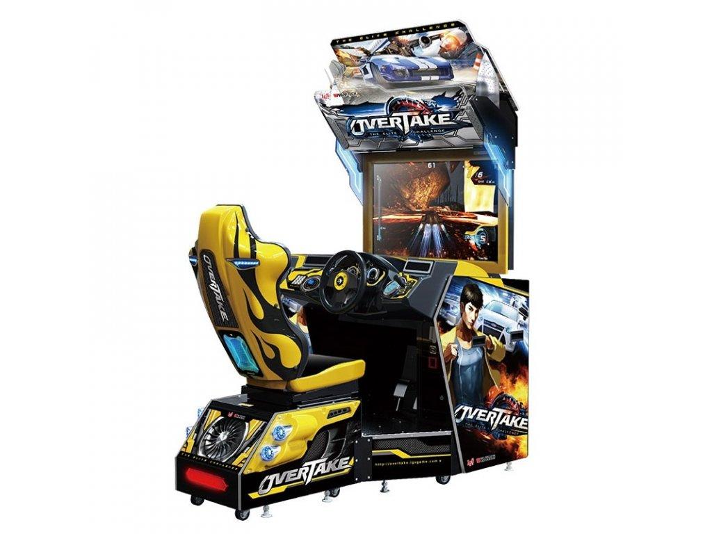 Interaktivní závodní simulátor - Overtake