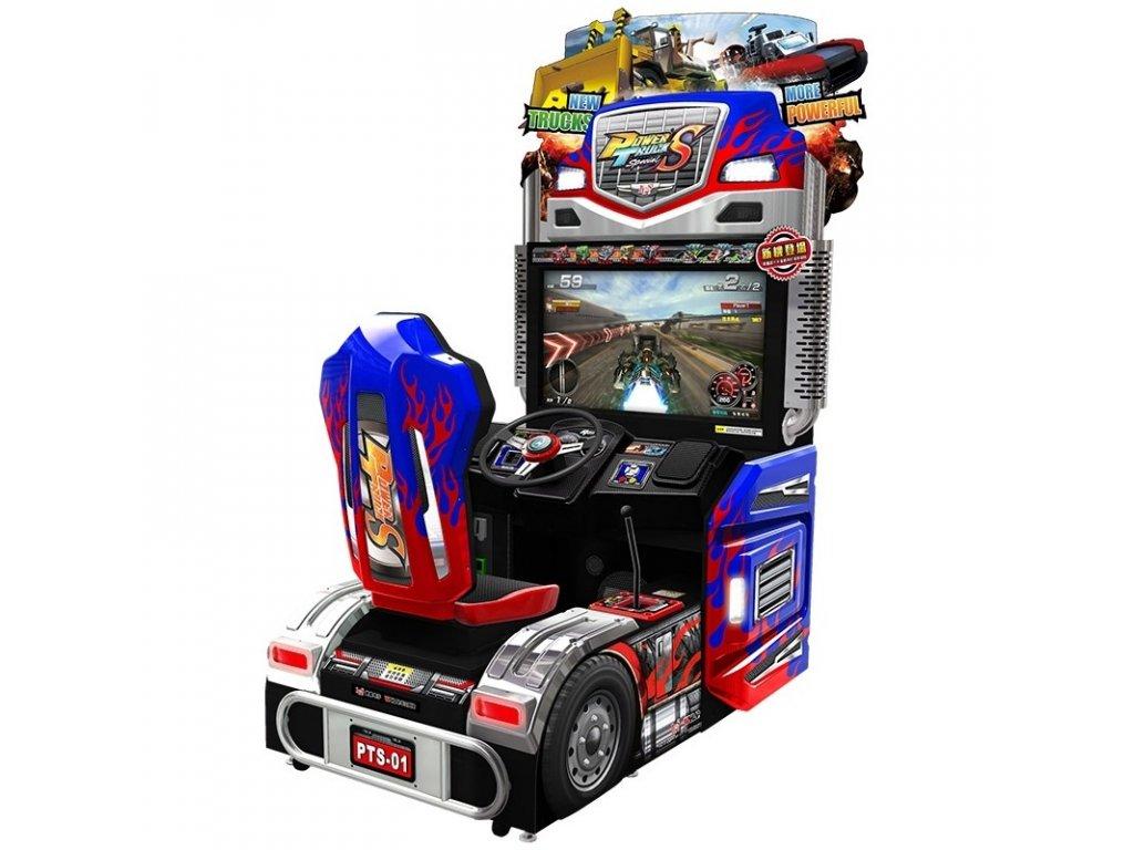 Interaktivní závodní simulátor - Power Truck S