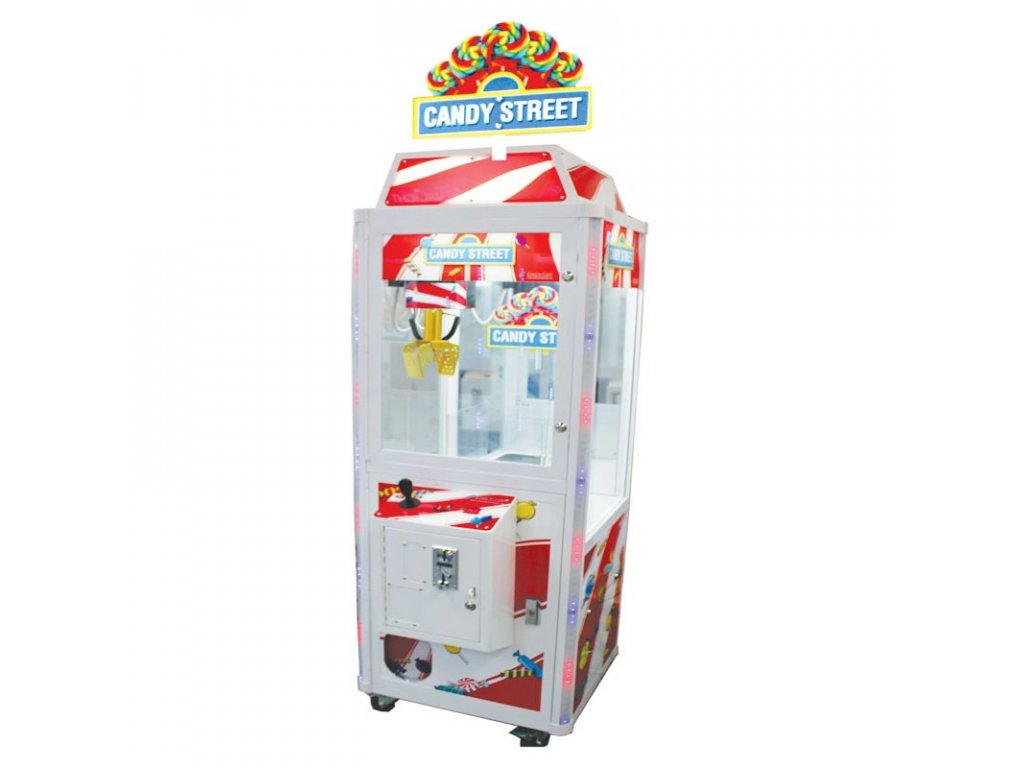 Dětský výherní automat na sladkosti - Candy street