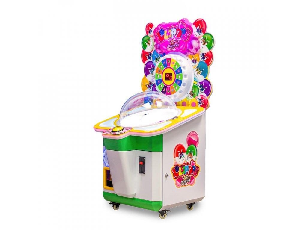 Dětský výherní automat na sladkosti - Lollipops