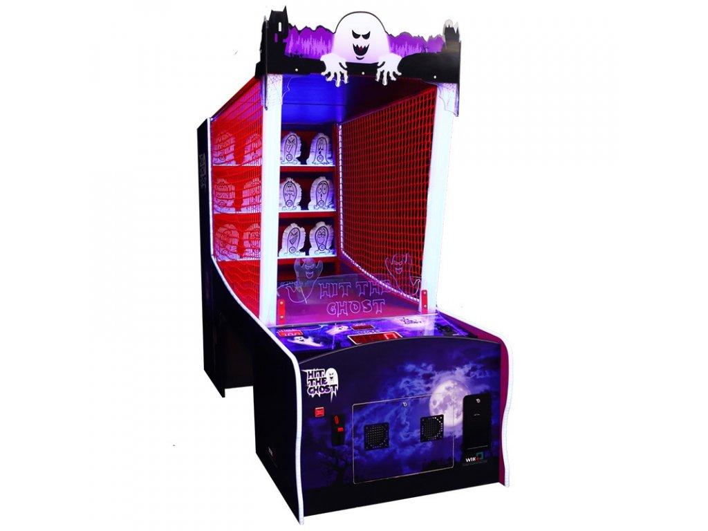 Interaktivní postřehová hra - Hit the Ghost
