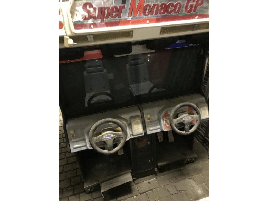 Arkádový automat - Super Monaco GP