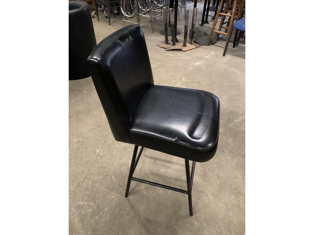 Barová židle NERO 4 - bazar